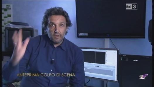 """Flavio Insinna nell'anteprima di """"Colpo di scena"""" dedicato a Gigi Proietti"""