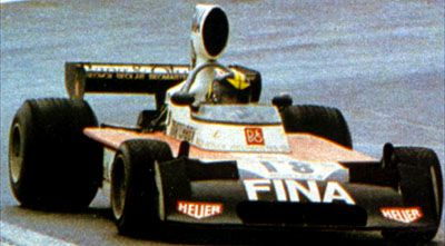 #18 Carlos Pace (Bra) - Surtees TS16 (Ford Cosworth V8) 13 (14) Bang & Olufsen Team Surtees