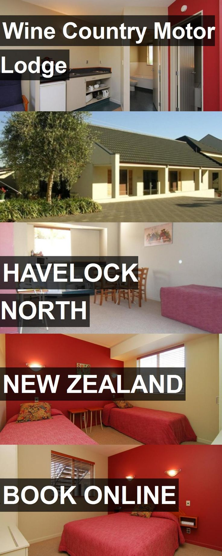 Hotel Wine Country Motor Lodge in Havelock North, New Zealand. For more information, photos, reviews and best prices please follow the link. #NewZealand #HavelockNorth #WineCountryMotorLodge #hotel #travel #vacation