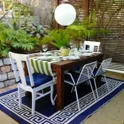 If you're after a blue outdoor patio rug then this page will save you a whole lot of legwork. Blue Outdoor Patio Rugs http://www.perfect-gift-store.com/blue-outdoor-patio-rugs.html