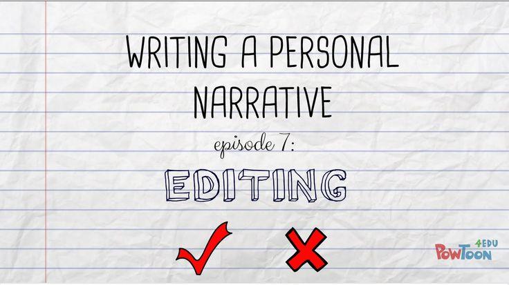 How to edit an essay memoir