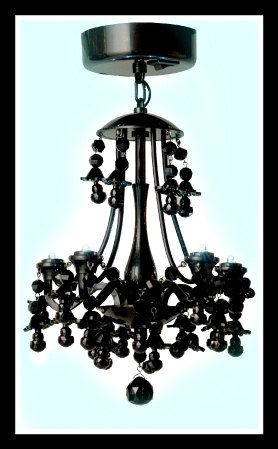 Mini Chandelier Pee Glamper Vintage Trailer Led Battery Operated