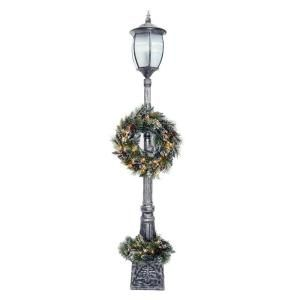 7 ft. Pre-Lit Porch Lantern Artificial Christmas Tree with 50 Clear Lights, W-LTN-70TS at The Home Depot - Tablet