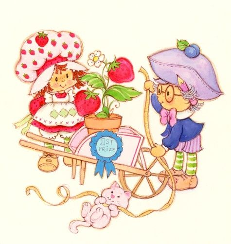 Plum pudding from strawberry shortcake