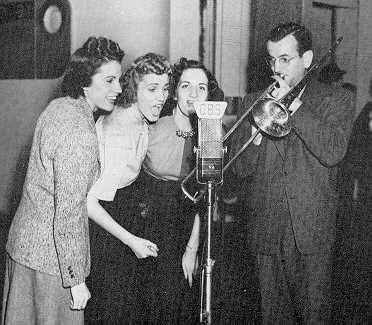 Andrews Sisters And Glen Miller