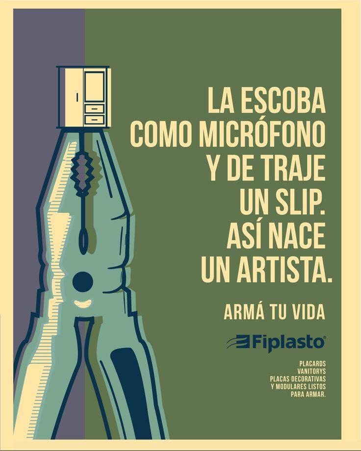 NACE UNA ESTRELLA! FIPLASTO ARMÁ TU VIDA  #artista #microfono  #muebles