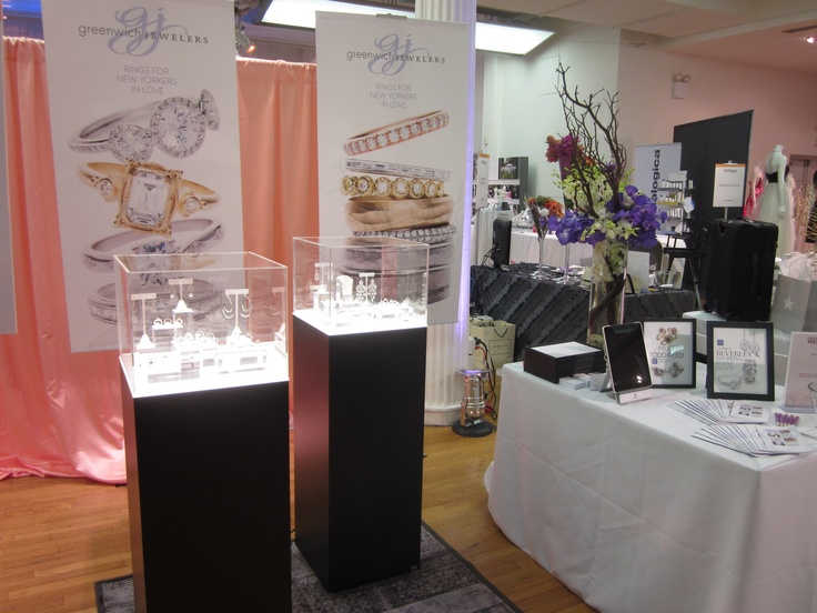 The Greenwich Jewelers booth at the New York Weddings Event- 2012: New York Wedding