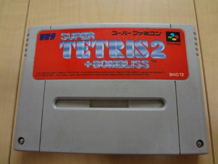 Super Tetris 2 + Bombliss SUPER FAMICOM  (Nintendo SNES)