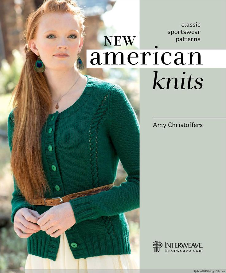 ☱  FREE PATTERN  ☱   New American Knits 2014 -  MAGAZINE FULL OF KNIT PATTERNS AND ARTICLES