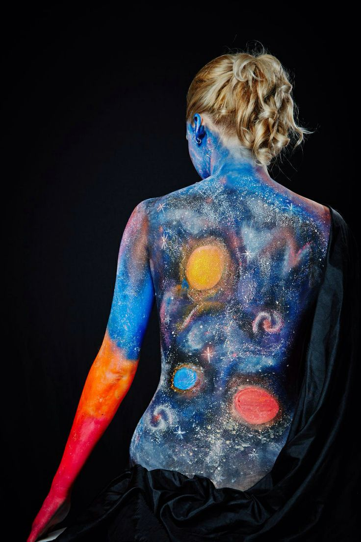 17 Best Images About Celestial Body Paint On Pinterest