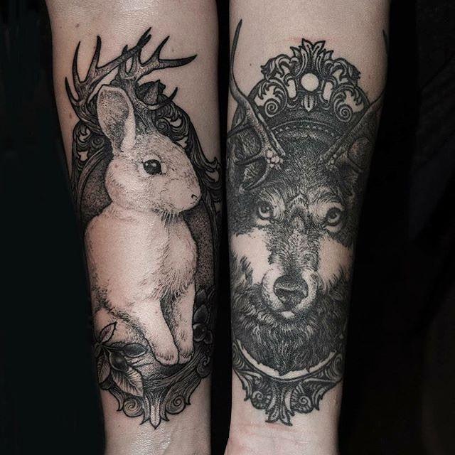 Rabbit & Wolf