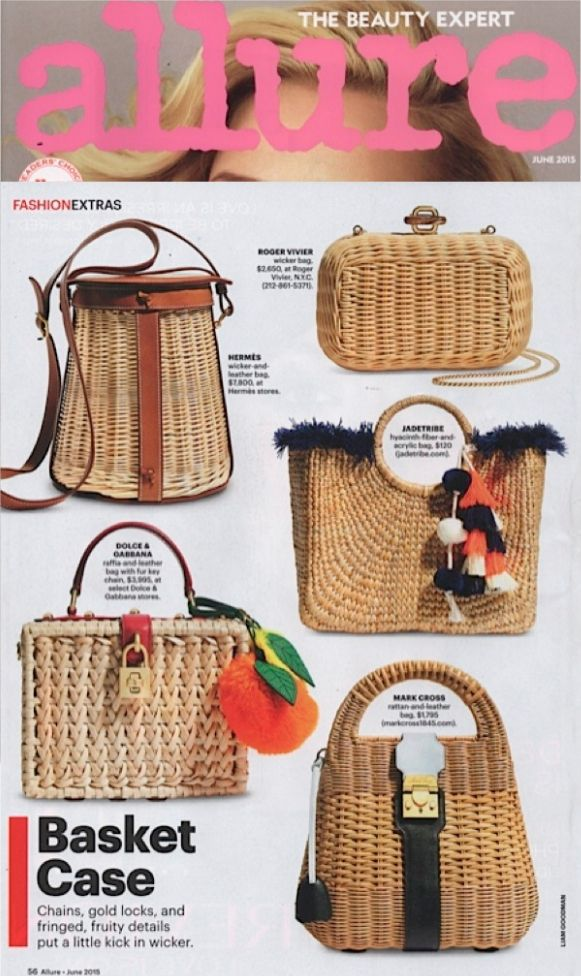 Allure Magazine June 2015 Basket Case