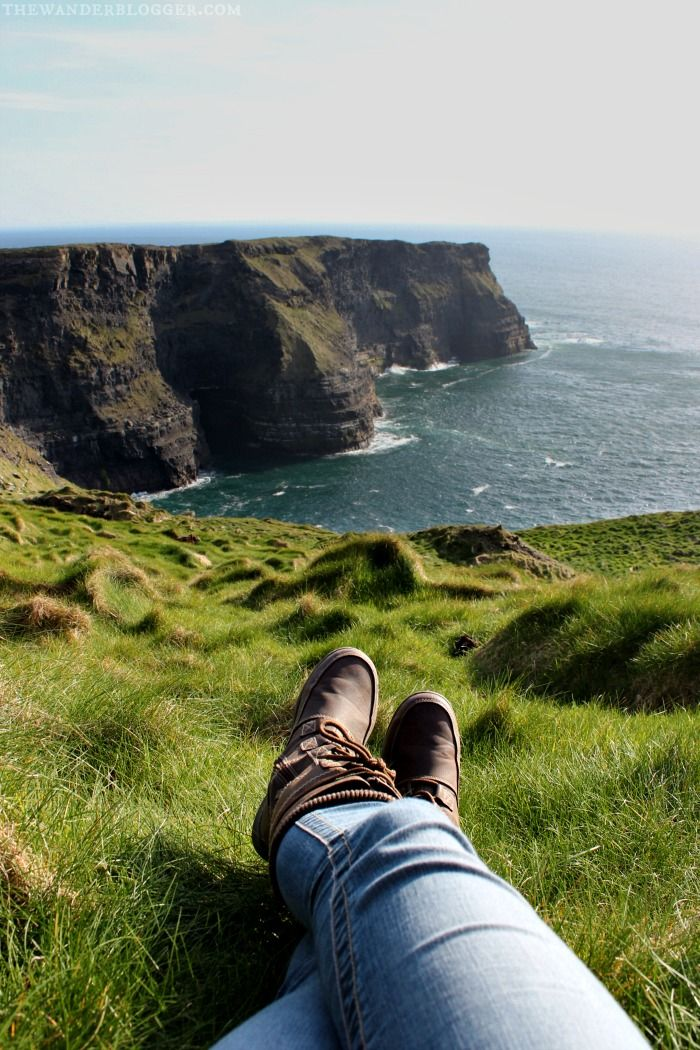Hiking At Hag's Head In County Clare, Ireland                                                                                                                                                                                 More