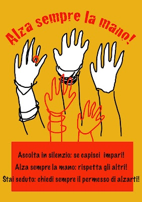 alza la mano! rules in the Artroom