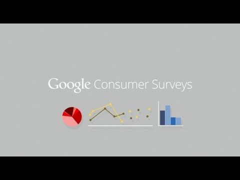 Google Consumer Surveys : Effective Market Research For Less And More Money For Publishers [Video]