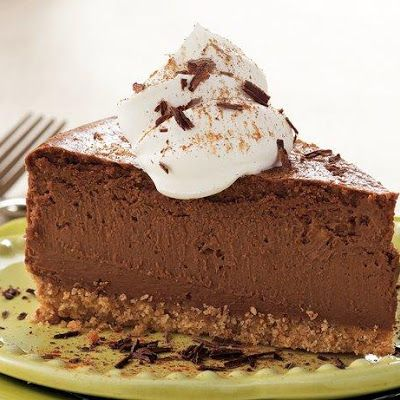 Mexican Chocolate Cheesecake @keyingredient #cheese #chocolate #cheesecake