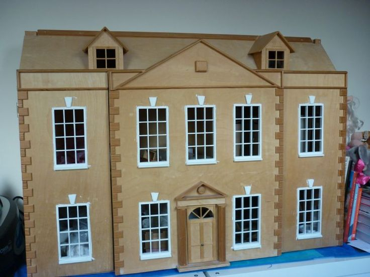 For Sale - Large Georgian Dolls House for Sale - The Dolls House Exchange