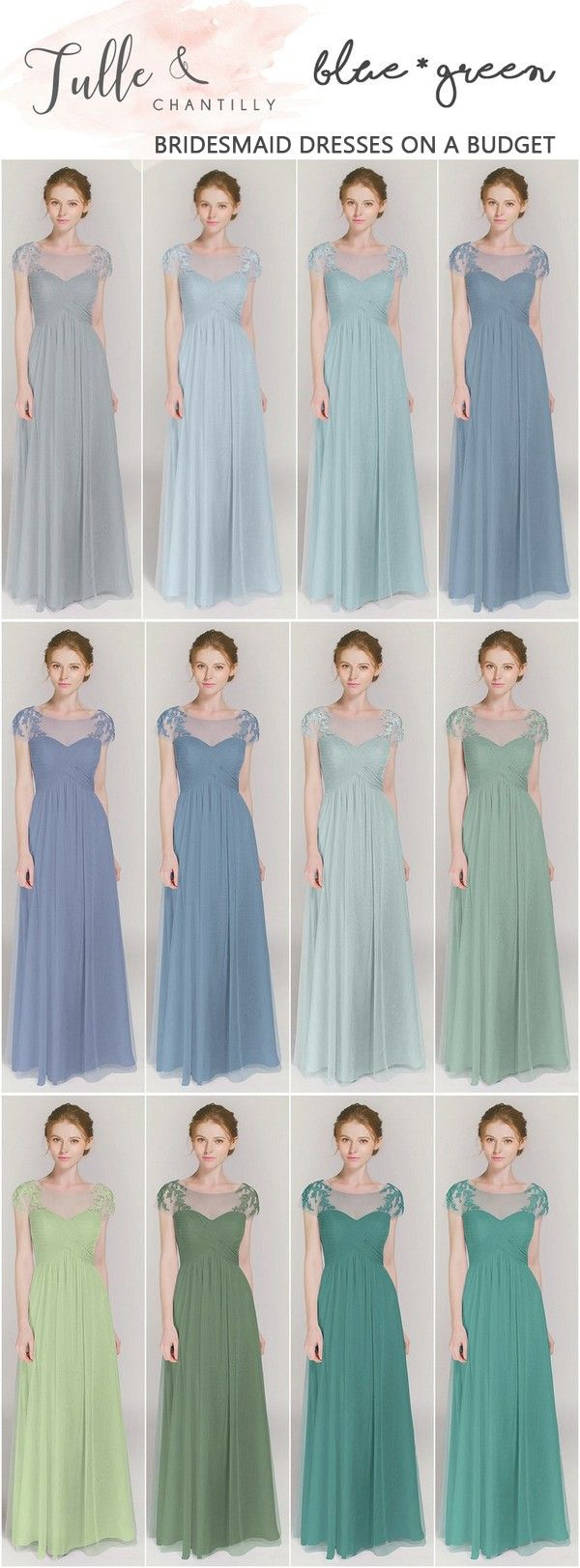 25 best Blue Bridesmaid Dresses images on Pinterest | Blue ...