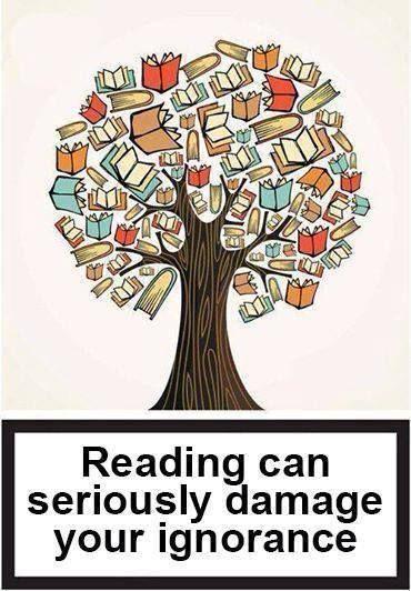 مراقب عادت كتاب خواندن باشيد؛ جداً به جهل شما آسيب مي رسان http://irpdf.com/