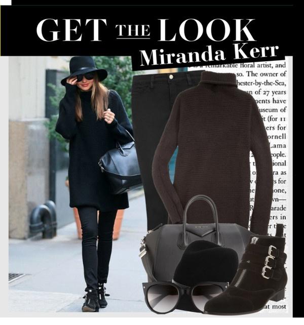 """Celeb Style: Miranda Kerr"" by ellize-back ❤ liked on Polyvore"
