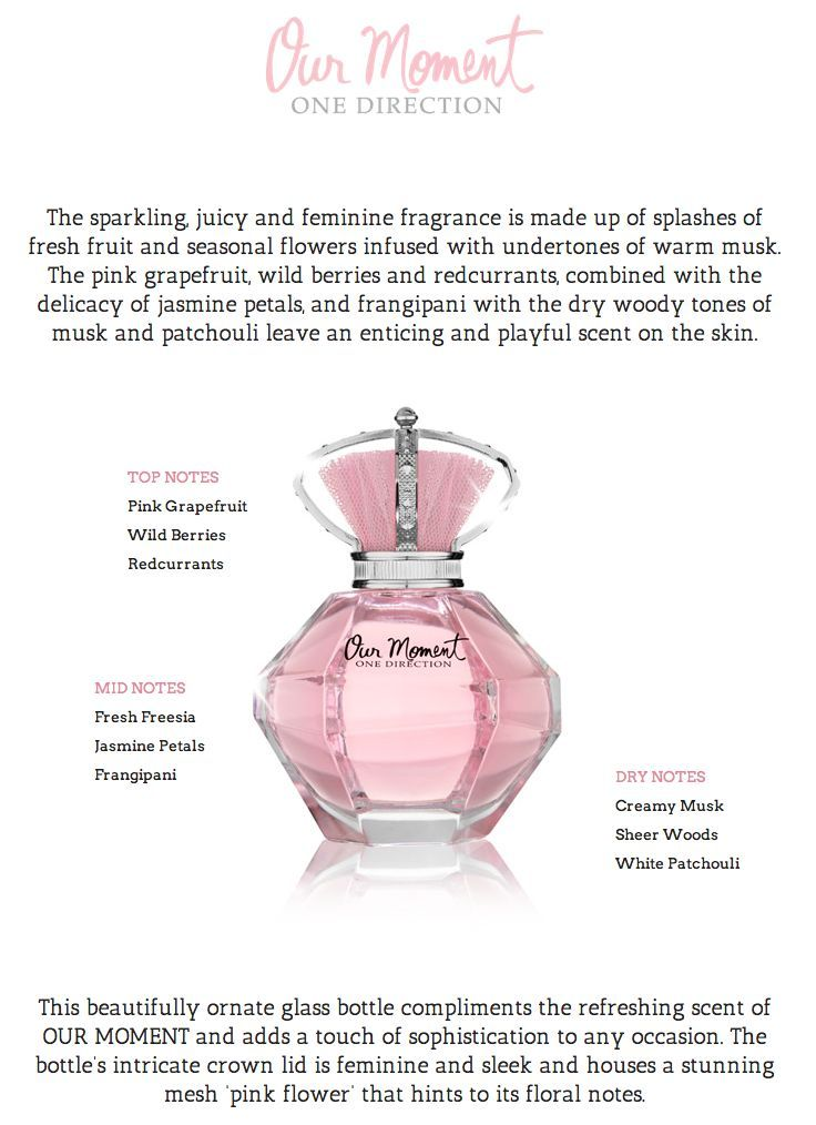 One Direction Our Moment perfume.. Smells super pretty! I want this