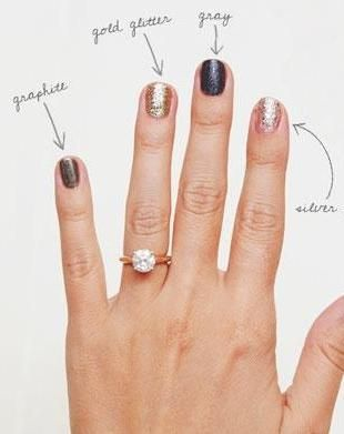 Lauren Conrad's 5 tips to the best holiday mani!