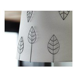 IKEA - EDSVALLA, Decoration for lamp shade, set 10, , These decorations for lamp shades are a fun and easy way to give your lamp a new expression.