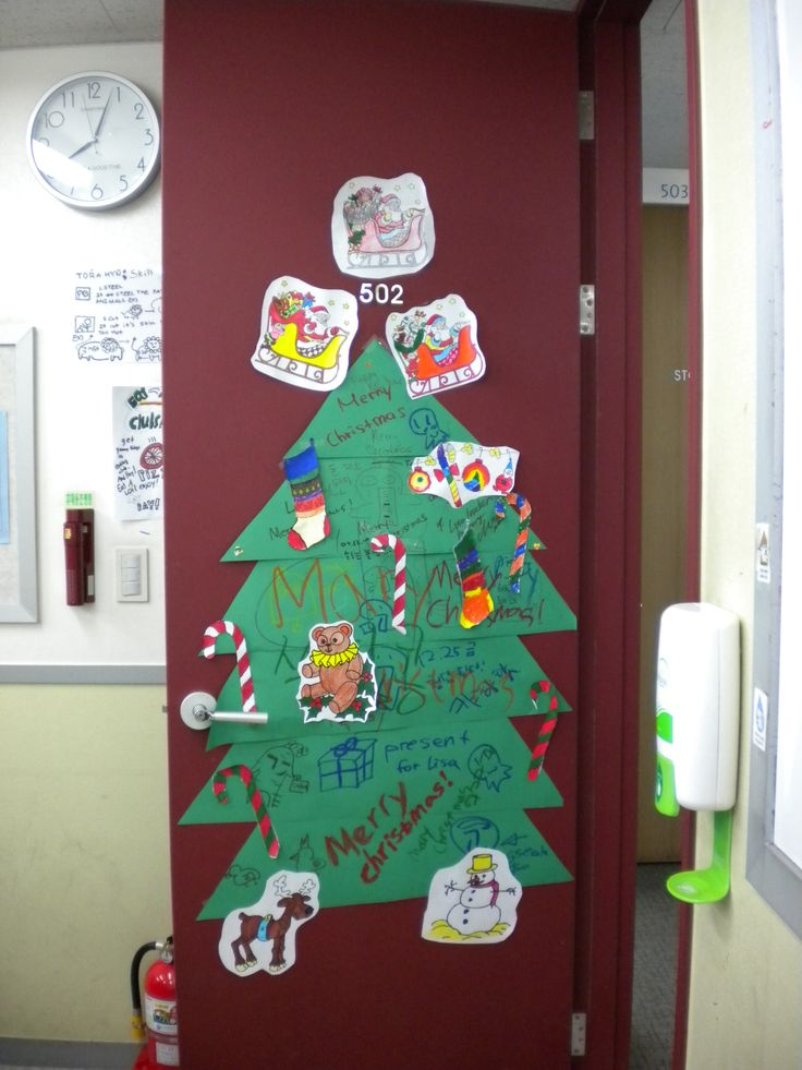 ChristmasDoorDecoratingIdeas Door Decorations 61 best christmas