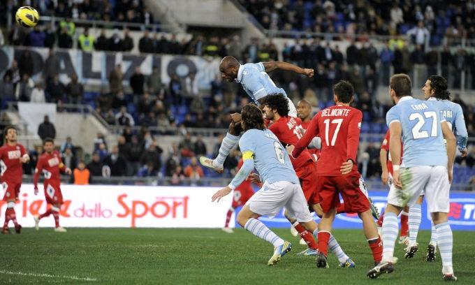 Le foto più belle della sfida dell'Olimpico, valevole per gli ottavi di finale di coppa Italia. Lazio 5-2 Siena