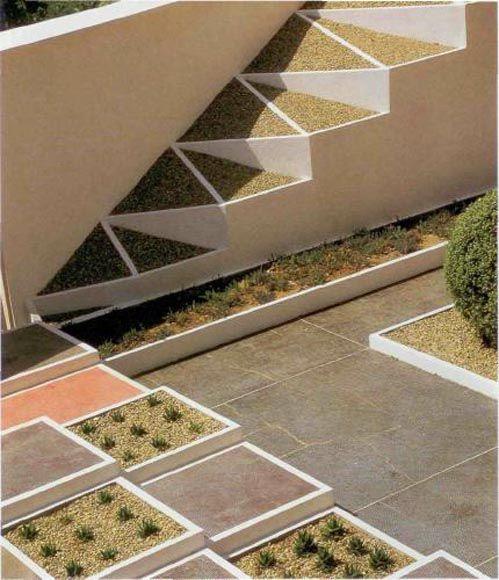 Cubist garden, Villa de Noailles