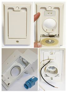 Central Vacuum Wall Plate Brilliant 22 Best Central Vacuum For Diy'ers Do It Yourself Images On Decorating Design