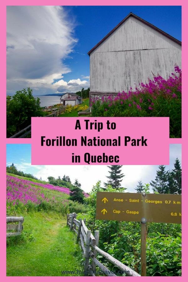 A Trip to Forillon National Park for beaches & hiking