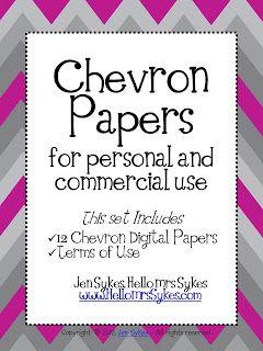 Freebie!  Chevron Papers  :)  $0