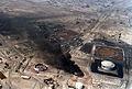 Gulf War or Operation Desert Storm waged against Iraq and Iraq's invasion of Kuwait