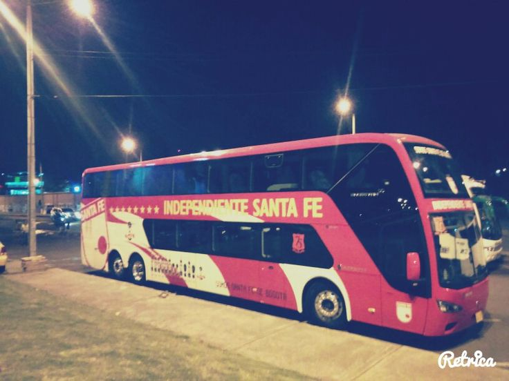 Bus Independiente Santa Fe
