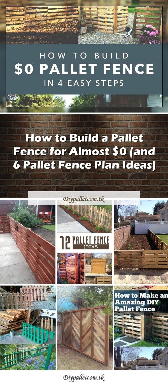 Easy Pallet Fence Patio Surround 1001 Palletseasy Pallet Fence Patio Surround My First Attempt At Using Pallets Pallet Fence Diy Garden Fence Fence Planning