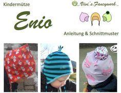 Mütze, Wendemütze, Zipfelmütze, Bommelmütze,  KU 37-55cm