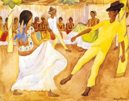 Diego Rivera : Reproductions of masters paintings, Reproduction of ...