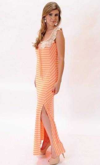 #vestrido #listras #moda #verão