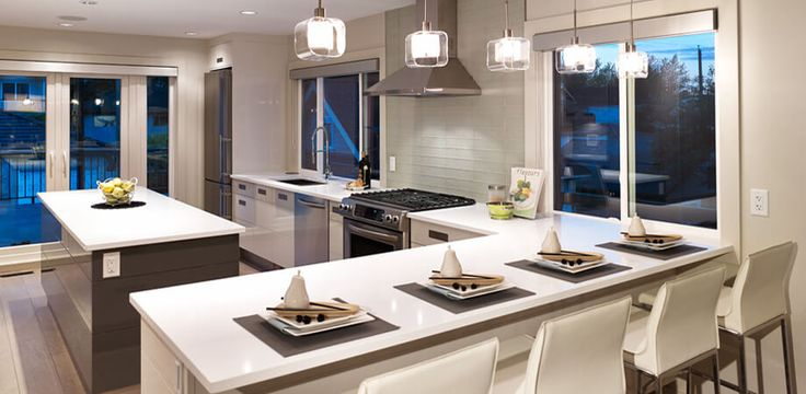 vancouver special whole house renovation modern kitchen