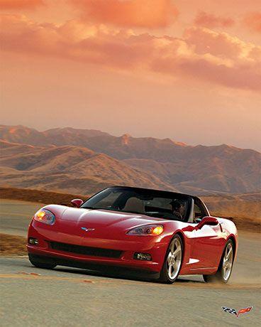 2005 Chevrolet Corvette Clouds $24.99