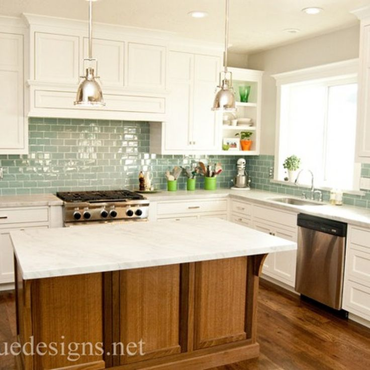 Green Kitchen Backsplash: 25+ Best Ideas About Green Subway Tile On Pinterest