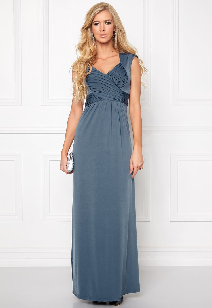 Chiara Forthi Francine Dress Pigeon Blue - Bubbleroom