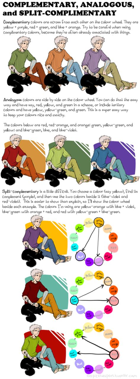 mollywog asked: I've been wanting to improve my art and achieve a better grasp on color theory, so I was wondering if you still have/remember that tutorial you made to explain some color theory and if...
