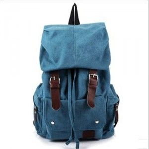 $104.64 Cheap MCM Outlet Worldwide Saxe Blue Backpack