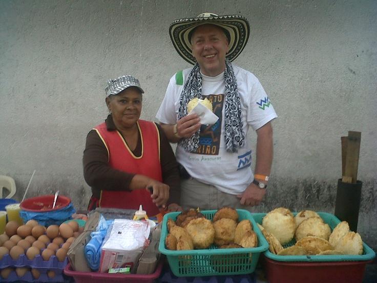 """""""Arepas de huevo La Industrial"""" Santa Marta-Departamento del Magdalena. Colombia."""