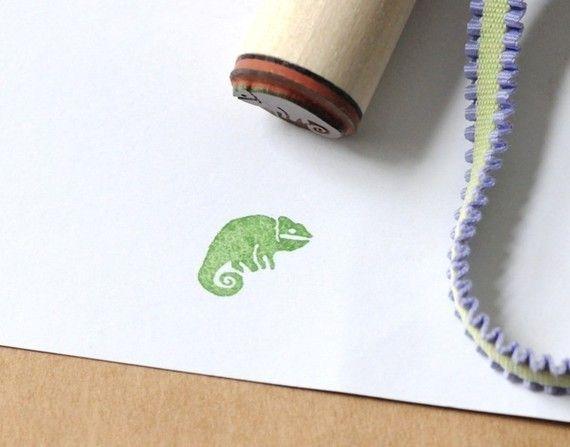 /cameleon-rubber-stamp