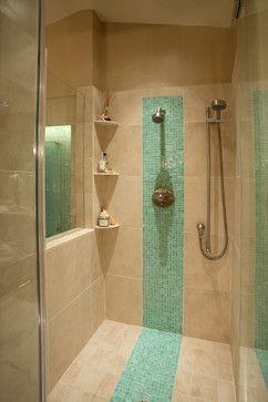 shower tile layout design ideas. 3 inset corner quarter