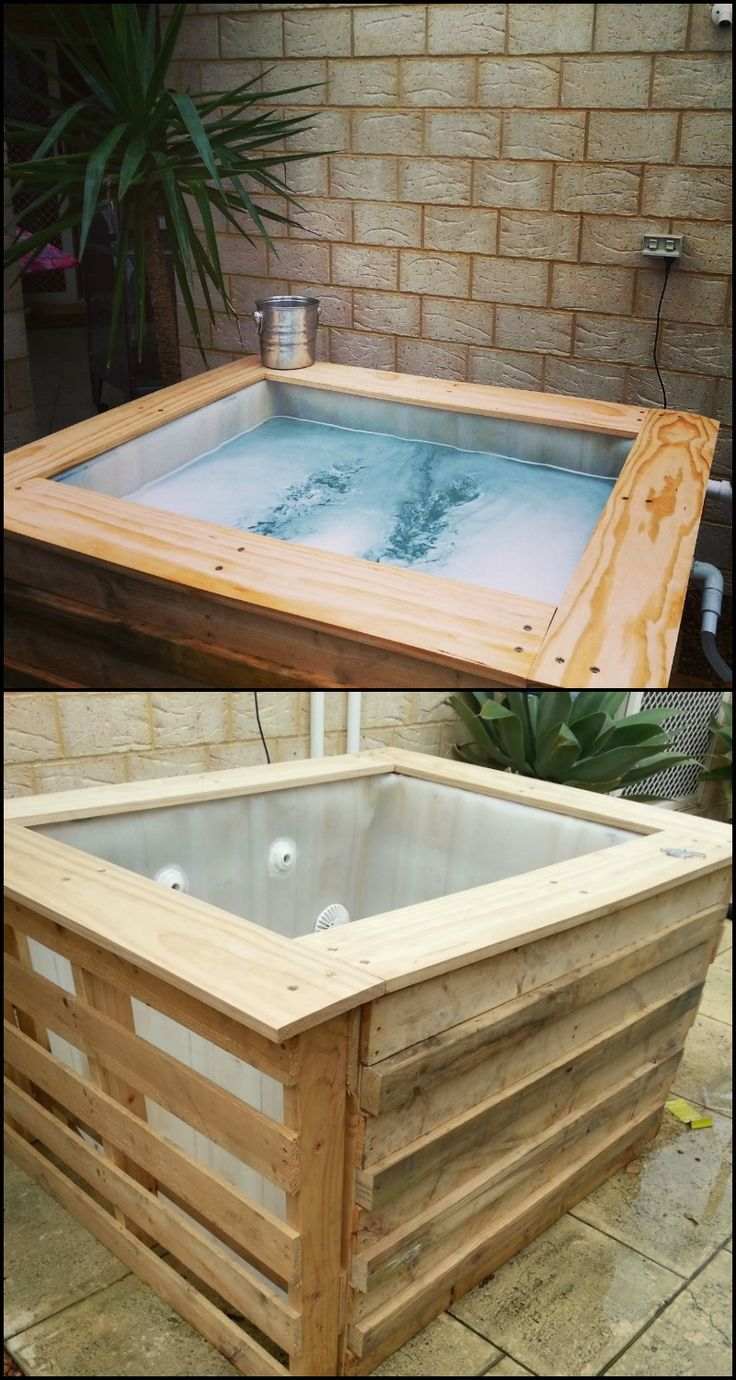 How to build an inexpensive above ground plunge pool for Create your own pool