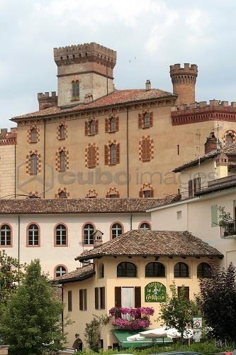 Falletti castle, Barolo, Langhe, Piedmont, Italy